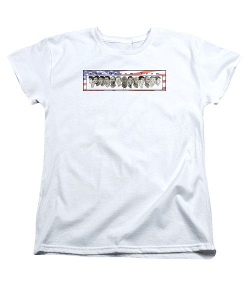 the Dream Team Women's T-Shirt (Standard Cut) by Tamir Barkan
