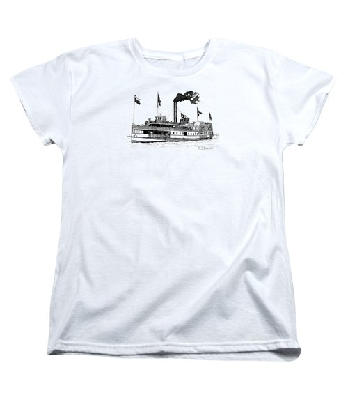 Women's T-Shirt (Standard Cut) featuring the drawing The Emma Giles by Ira Shander