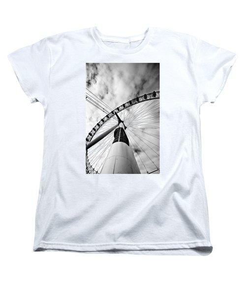The Eye Women's T-Shirt (Standard Cut) by Jorge Maia