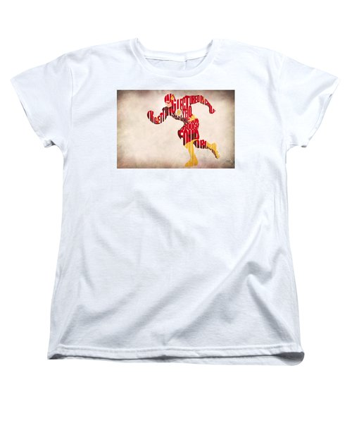 The Flash Women's T-Shirt (Standard Cut) by Ayse Deniz