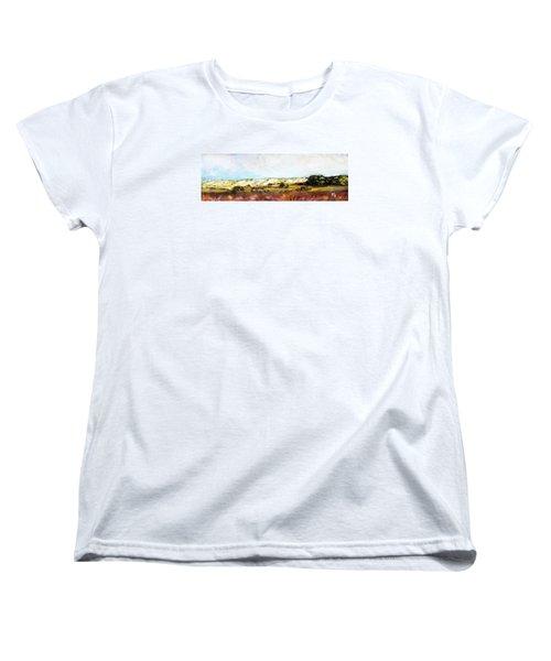 Behind The Surge Women's T-Shirt (Standard Cut) by Michael Helfen