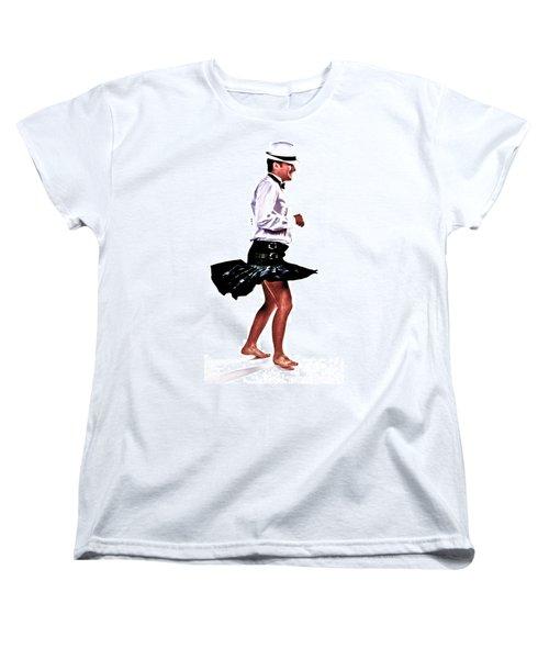 The Happy Dance Women's T-Shirt (Standard Cut) by Xn Tyler