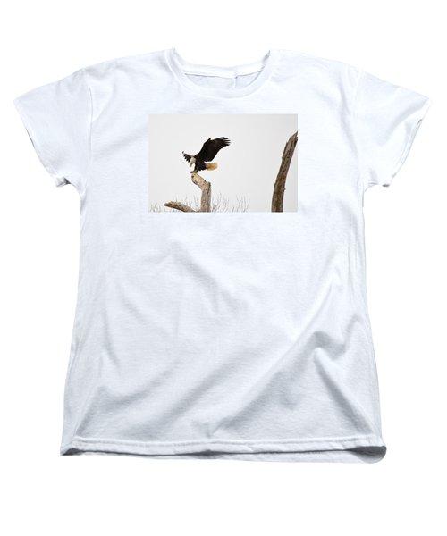 The Landing Women's T-Shirt (Standard Cut) by Bonfire Photography