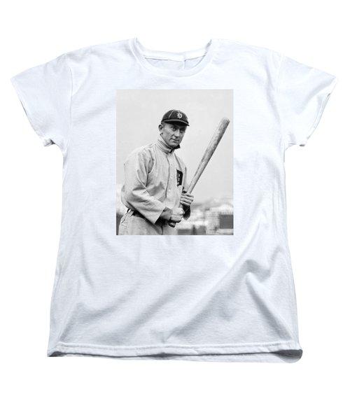 The Legendary Ty Cobb Women's T-Shirt (Standard Cut) by Gianfranco Weiss