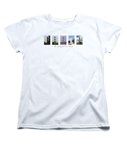 The Lights Of The Outer Banks Women's T-Shirt (Standard Cut) by Tony Cooper