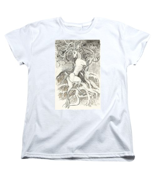 The Martyr Women's T-Shirt (Standard Cut) by Melinda Dare Benfield