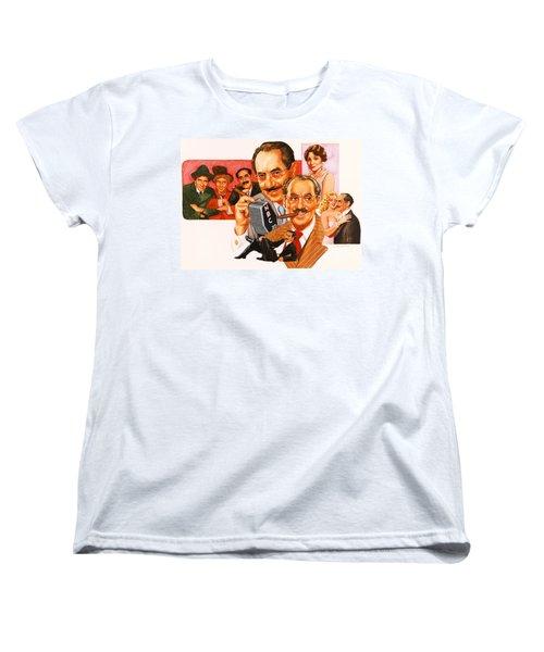 The Marx Brothers Women's T-Shirt (Standard Cut)