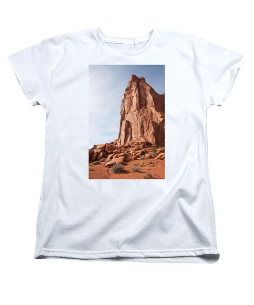 Women's T-Shirt (Standard Cut) featuring the photograph The Monolith by John M Bailey