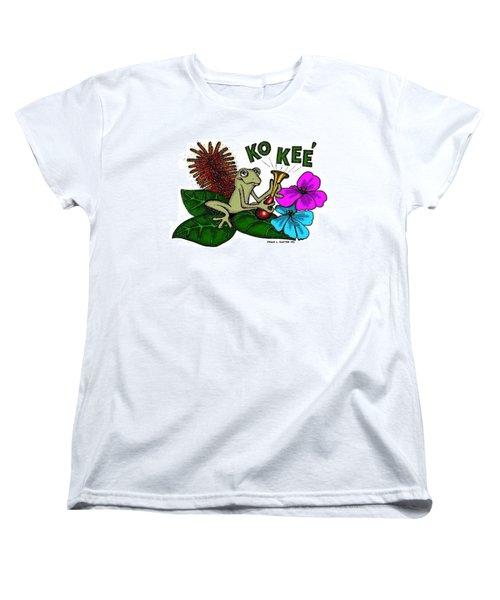 The Night Sound Of Puerto Rico Women's T-Shirt (Standard Cut) by Frank Hunter