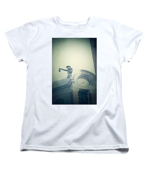 Women's T-Shirt (Standard Cut) featuring the photograph The Night Watchman by Trish Mistric