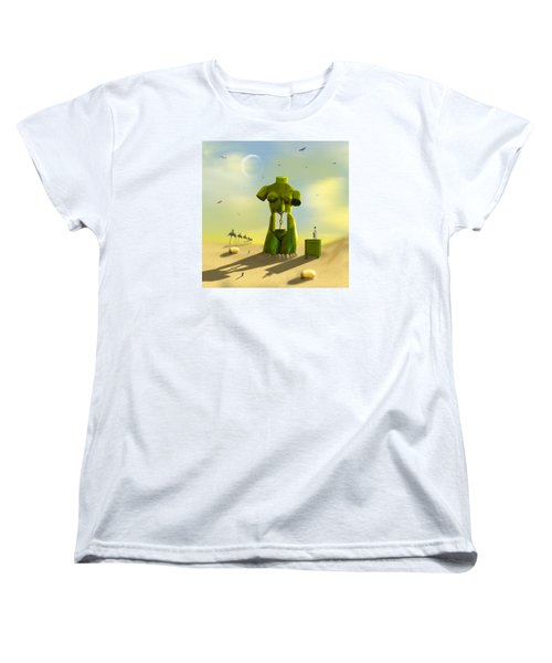 The Nightstand Women's T-Shirt (Standard Cut) by Mike McGlothlen