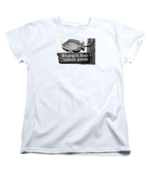 The Old Watering Hole Women's T-Shirt (Standard Cut) by Bruce Bley