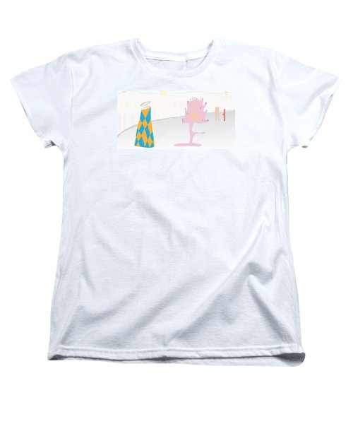 The Partygoers Women's T-Shirt (Standard Cut) by Kevin McLaughlin
