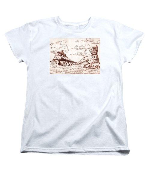 The Rocks Women's T-Shirt (Standard Cut) by Dustin Miller