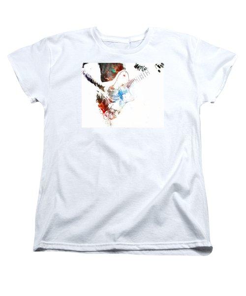 The Roll Of Rock  Women's T-Shirt (Standard Cut) by Jerry Cordeiro