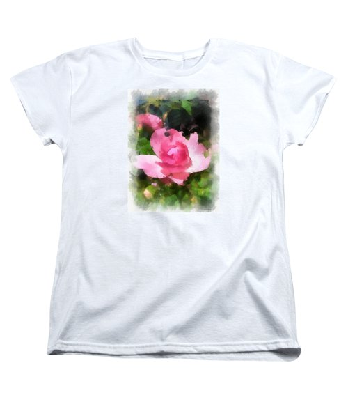 Women's T-Shirt (Standard Cut) featuring the photograph The Rose by Kerri Farley