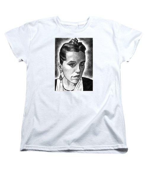 The Serbian Girl Women's T-Shirt (Standard Cut) by Salman Ravish
