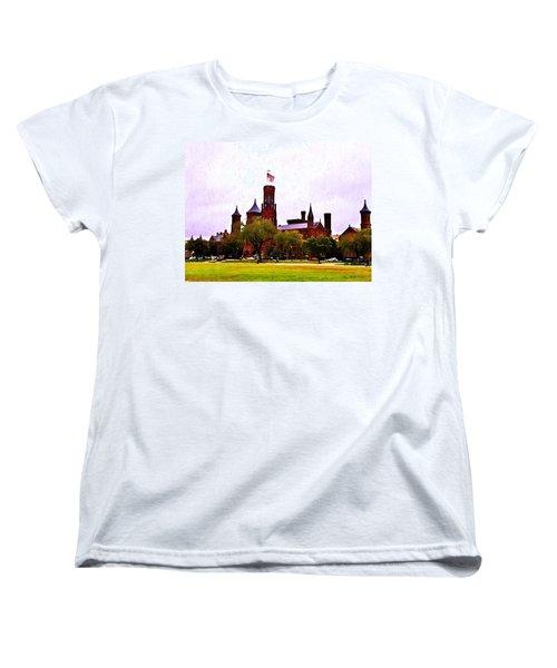 The Smithsonian Women's T-Shirt (Standard Cut) by Bill Cannon