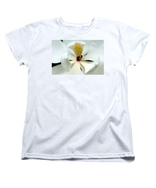 The Southern Magnolia Women's T-Shirt (Standard Cut) by Kim Pate