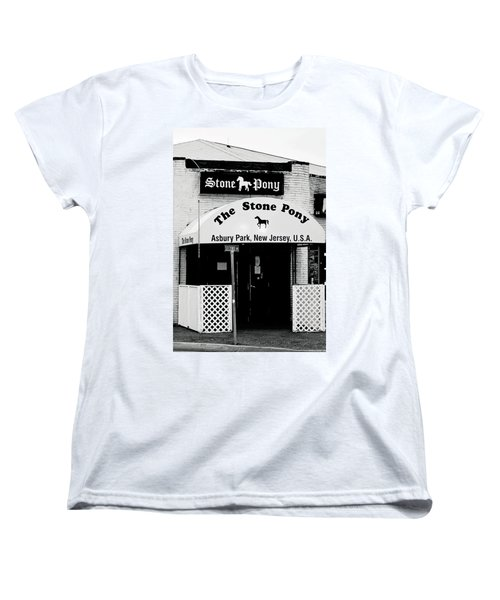 The Stone Pony Asbury Park Nj Women's T-Shirt (Standard Cut) by Terry DeLuco