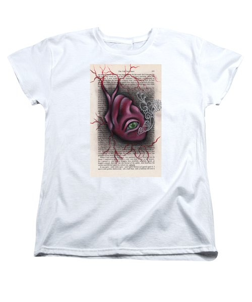 The Tell Tale Heart Women's T-Shirt (Standard Cut) by Abril Andrade Griffith