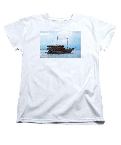 The Trip To Bunaken Women's T-Shirt (Standard Cut) by Sergey Lukashin
