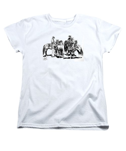 The Youngster Women's T-Shirt (Standard Cut) by Cheryl Poland