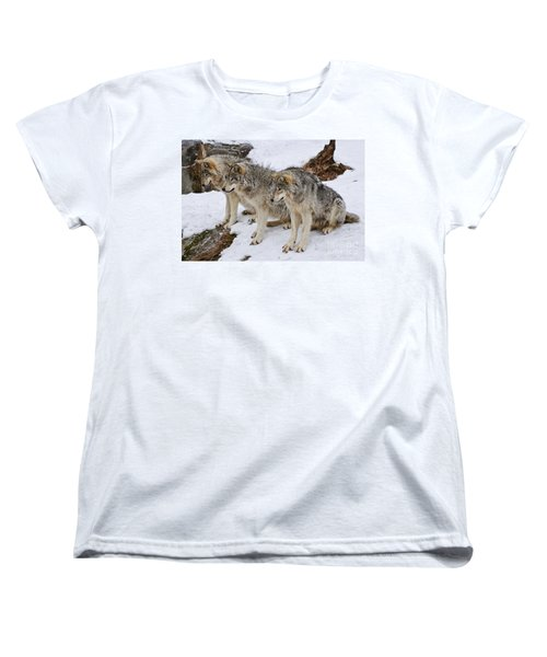 Three Kings Women's T-Shirt (Standard Cut) by Wolves Only