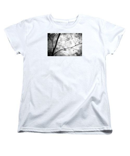 Women's T-Shirt (Standard Cut) featuring the photograph Through The Leaves by Darryl Dalton