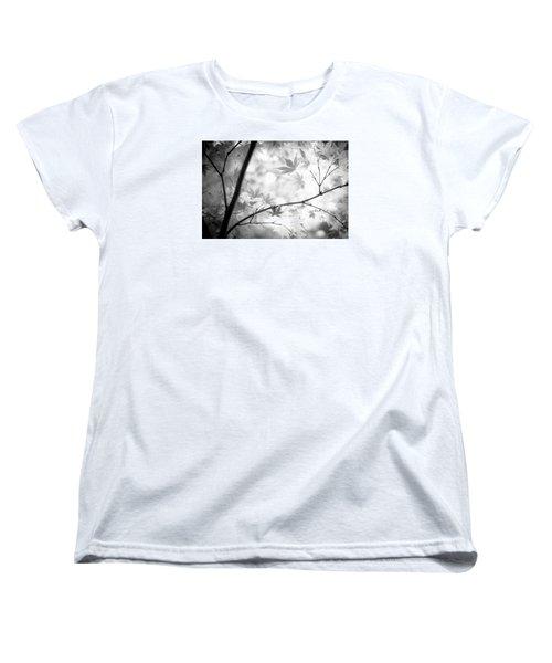 Through The Leaves Women's T-Shirt (Standard Cut) by Darryl Dalton
