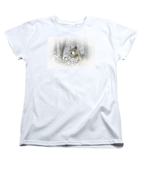 Timber Wolf Pictures 279 Women's T-Shirt (Standard Cut) by Wolves Only
