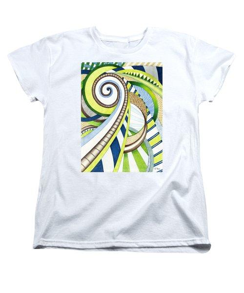 Time Travel Women's T-Shirt (Standard Cut) by Shawna Rowe