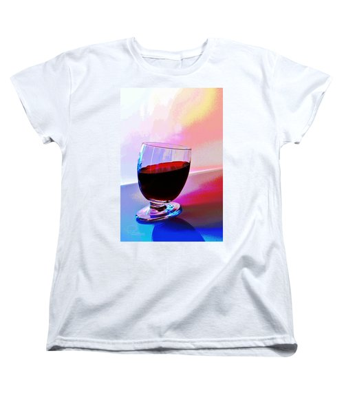Tipsy Women's T-Shirt (Standard Cut) by Ludwig Keck