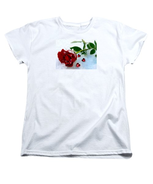 To Make You Feel My Love Women's T-Shirt (Standard Cut) by Morag Bates