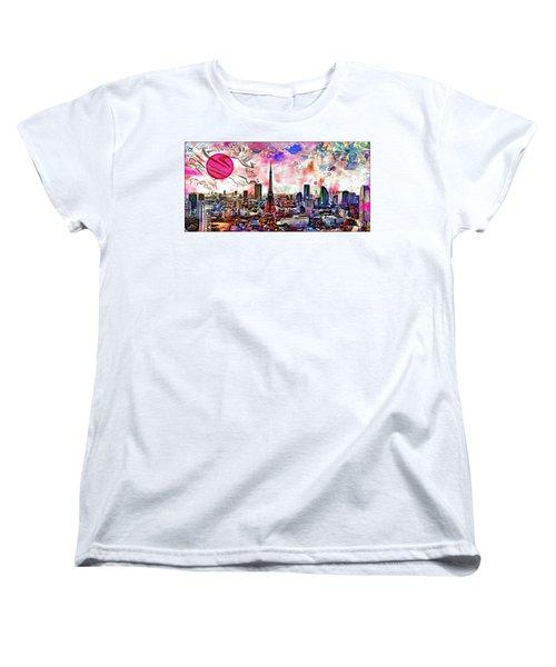 Tokyo Metropolis Women's T-Shirt (Standard Cut)