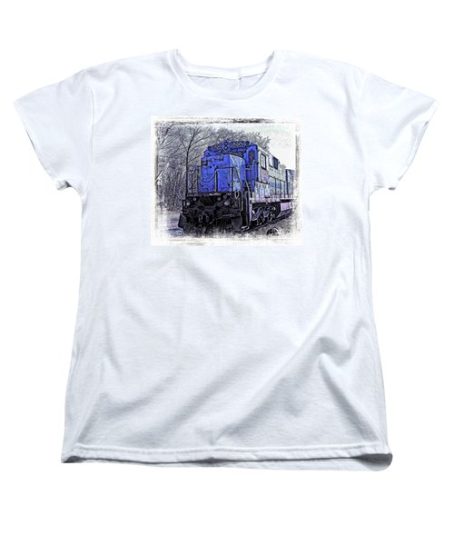Train Series Women's T-Shirt (Standard Cut) by Marcia Lee Jones