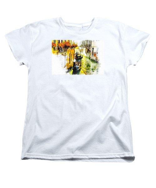 Tranquillity Women's T-Shirt (Standard Cut) by Greg Collins