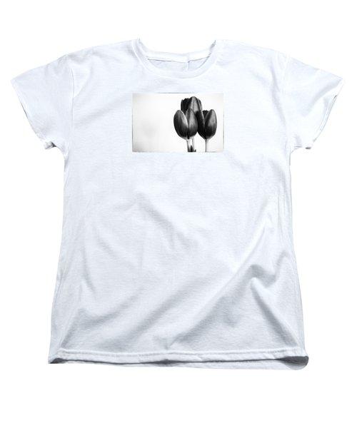 Tulip Trio Women's T-Shirt (Standard Cut) by Shelly Gunderson