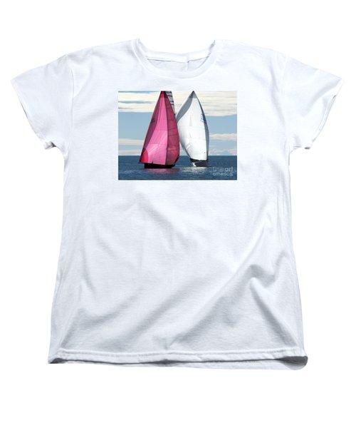 Two Of Us Women's T-Shirt (Standard Cut) by Jola Martysz