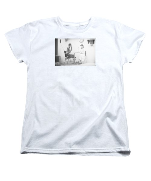 Women's T-Shirt (Standard Cut) featuring the photograph Two Sisters Project 12 by Steven Macanka