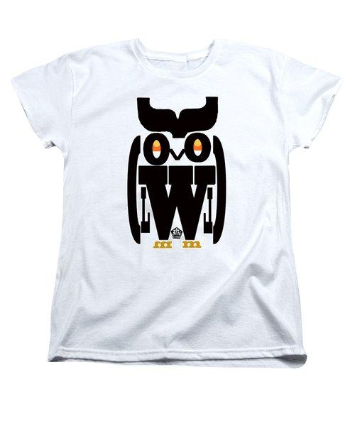 Typoowl Women's T-Shirt (Standard Cut) by Seth Weaver