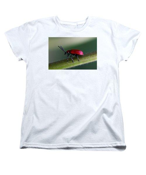 Under Way Women's T-Shirt (Standard Cut) by Annie Snel