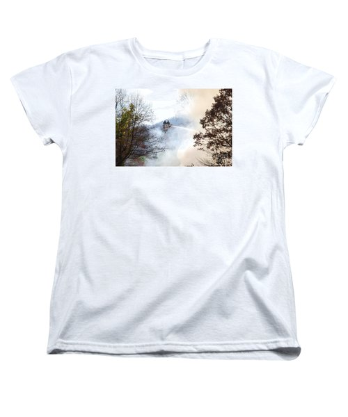 Up In Smoke Women's T-Shirt (Standard Cut) by Eric Liller