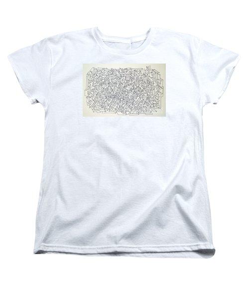 Urban Planning Women's T-Shirt (Standard Cut) by Nancy Kane Chapman