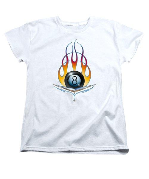 V 8 Women's T-Shirt (Standard Cut) by Alan Johnson