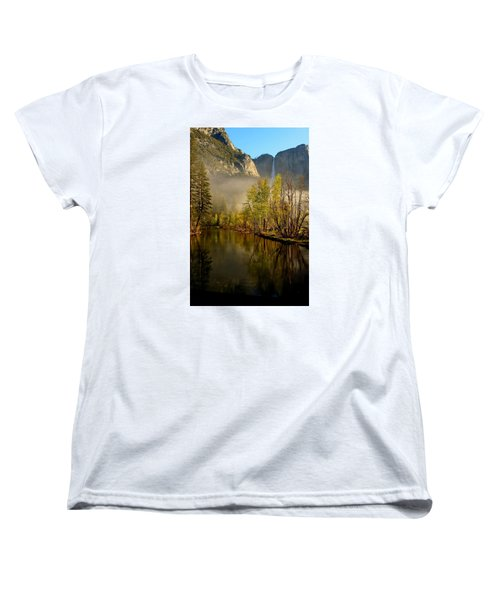 Vanishing Mist Women's T-Shirt (Standard Cut) by Duncan Selby