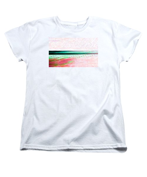 Women's T-Shirt (Standard Cut) featuring the photograph Variations On An Abstract Theme by Chris Anderson