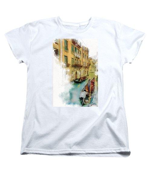 Venice 1 Women's T-Shirt (Standard Cut) by Greg Collins