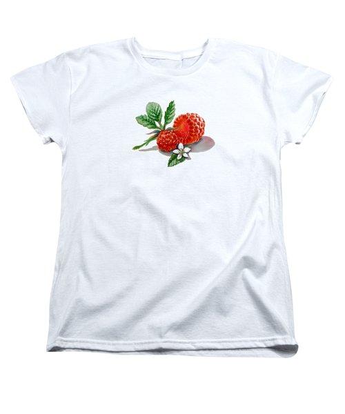 Artz Vitamins A Very Happy Raspberry Women's T-Shirt (Standard Cut)