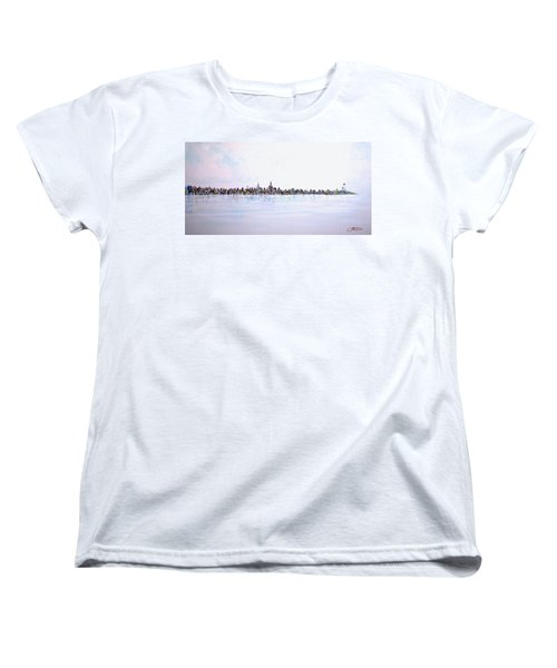 View From The Hudson Women's T-Shirt (Standard Cut)